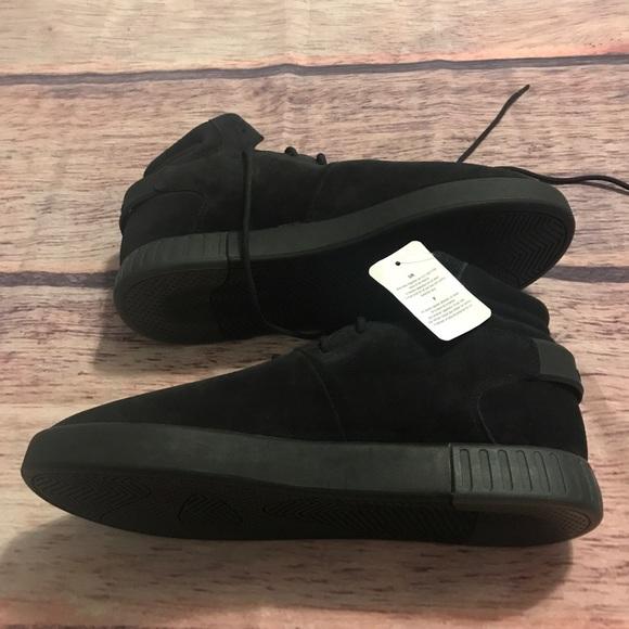 dcbef588e0ee25 Adidas Tubular Invader Mens Black Shoes S81797